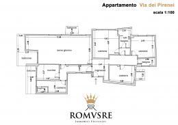 Appartamento in Vendita - Via dei Pirenei, 00144 Roma RM, Italia